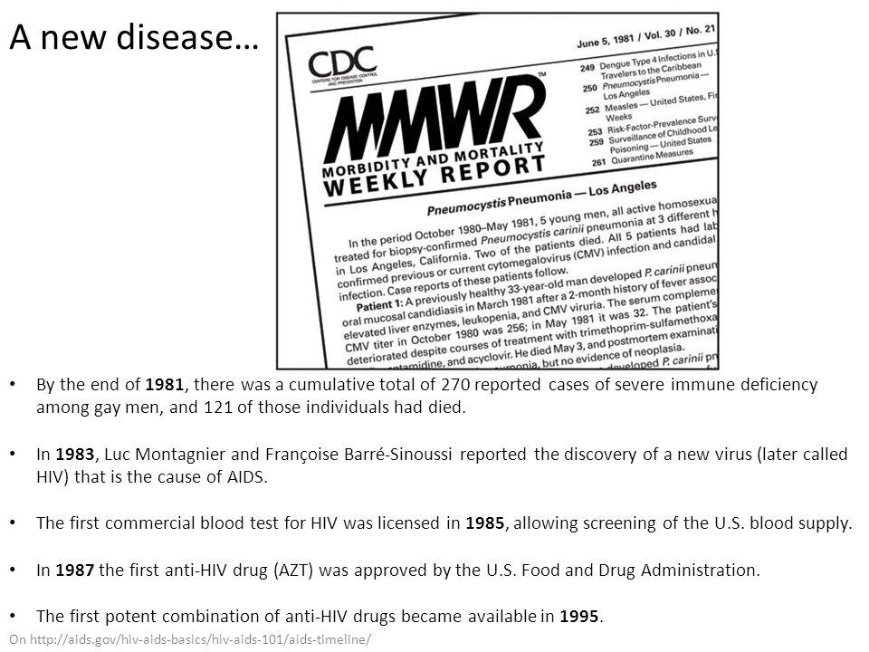A new disease…