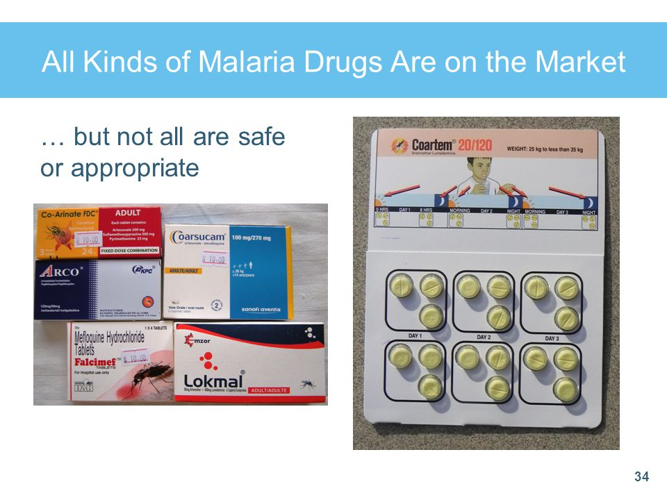 All Kinds of Malaria Drugs Are on the Market