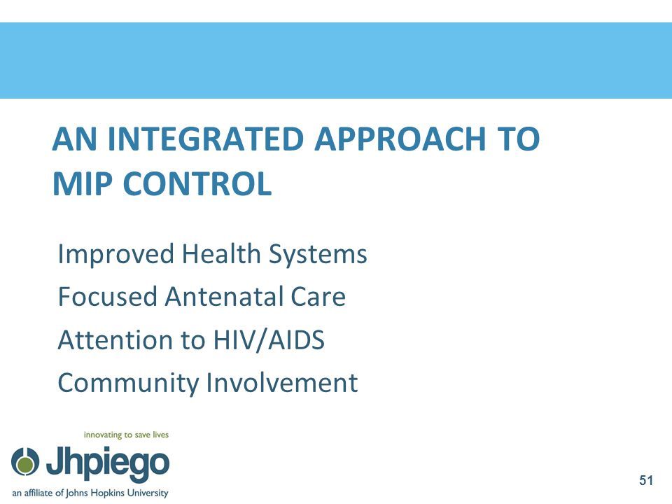 An integrated approach to MIP Control