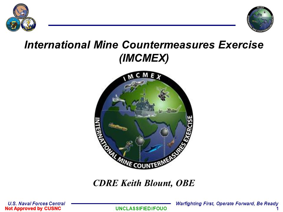 International Mine Countermeasures Exercise (IMCMEX)
