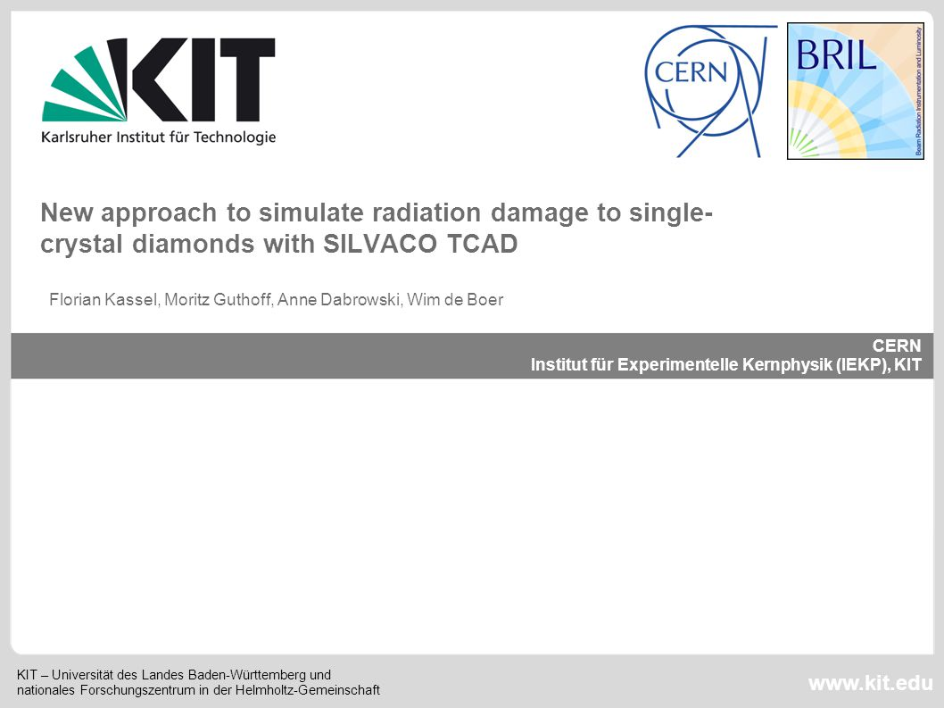 New approach to simulate radiation damage to single-crystal diamonds with SILVACO TCAD