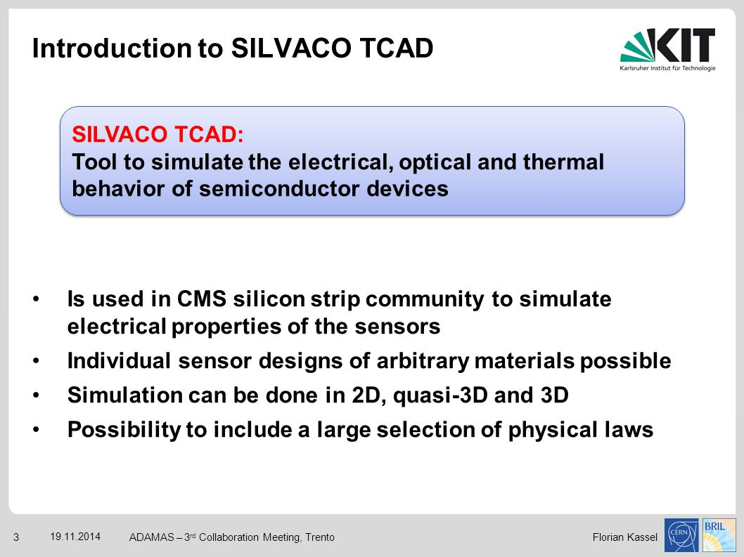 Introduction to SILVACO TCAD