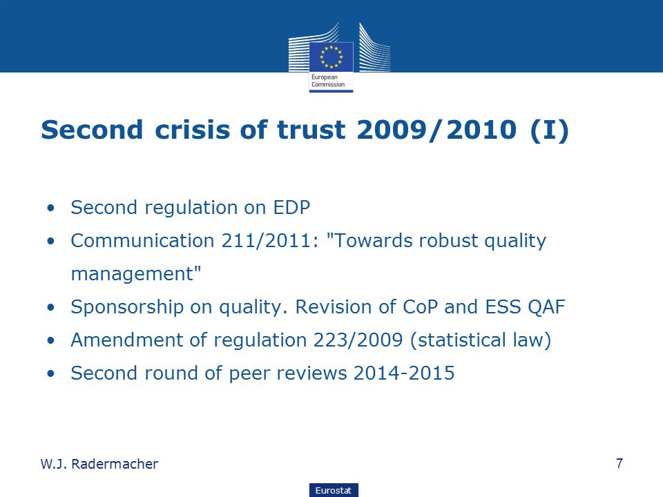 Second crisis of trust 2009/2010 (I)