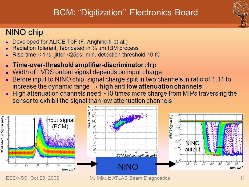 BCM: Digitization Electronics Board