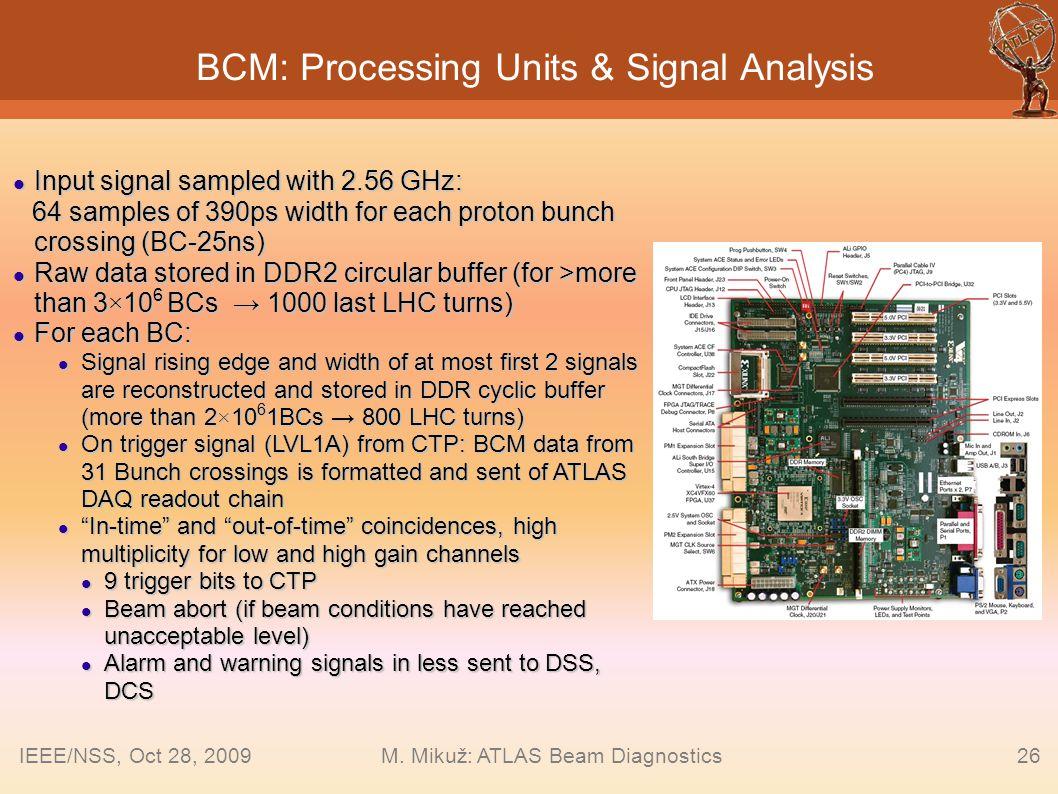 BCM: Processing Units & Signal Analysis