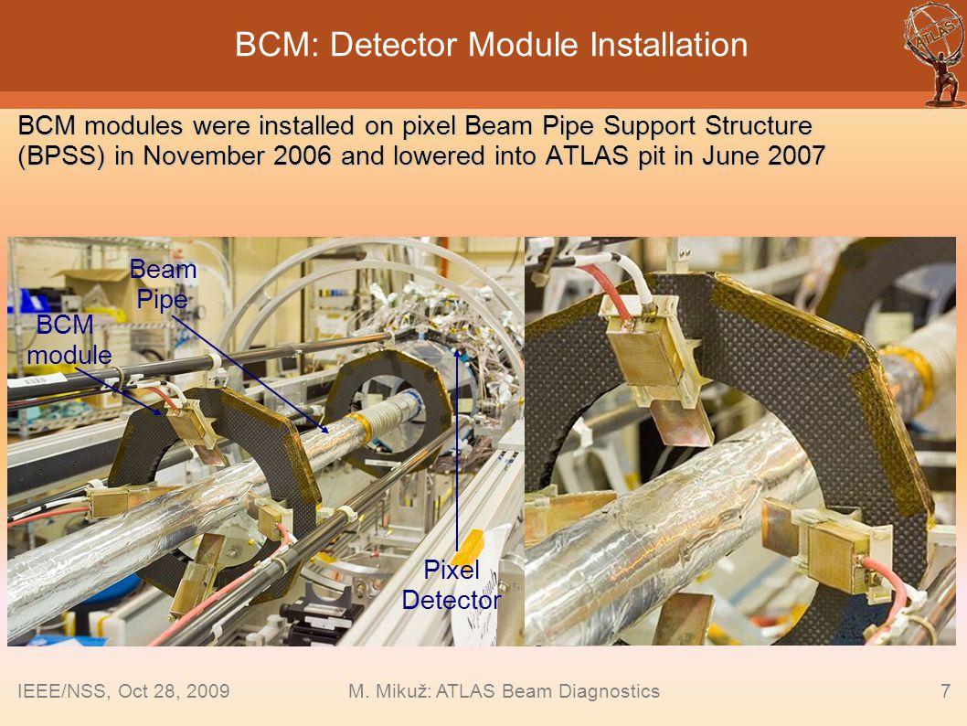 BCM: Detector Module Installation