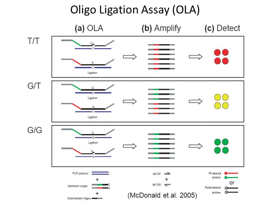 Oligo Ligation Assay (OLA)