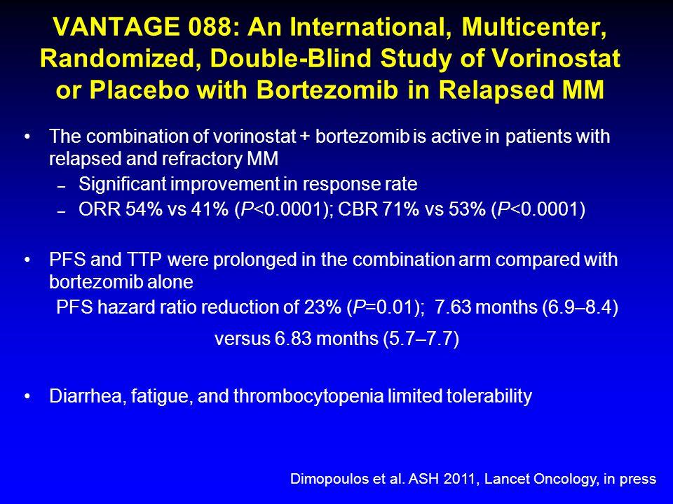 PFS hazard ratio reduction of 23% (P=0.01); 7.63 months (6.9–8.4)