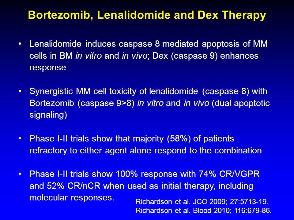 Bortezomib, Lenalidomide and Dex Therapy