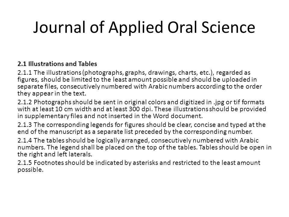 Journal of Applied Oral Science