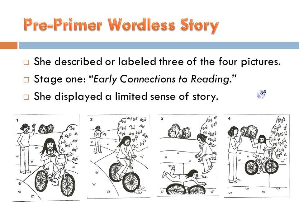 Pre-Primer Wordless Story