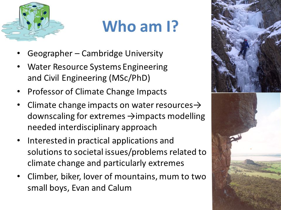 Who am I Geographer – Cambridge University