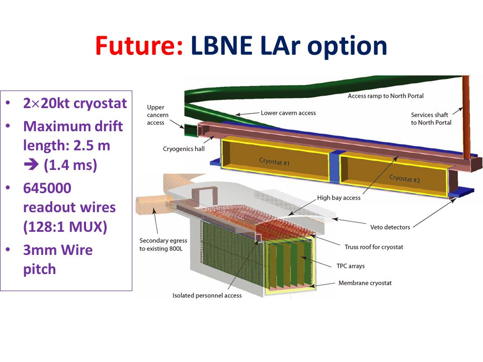 Future: LBNE LAr option