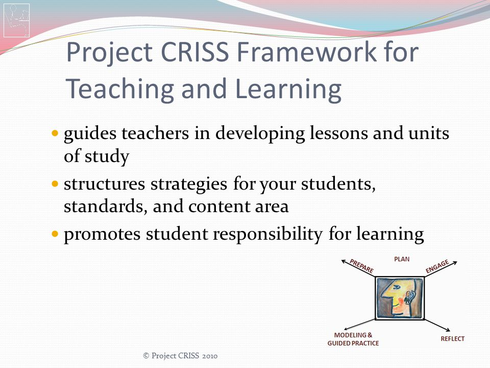 Project CRISS Framework for Teaching and Learning