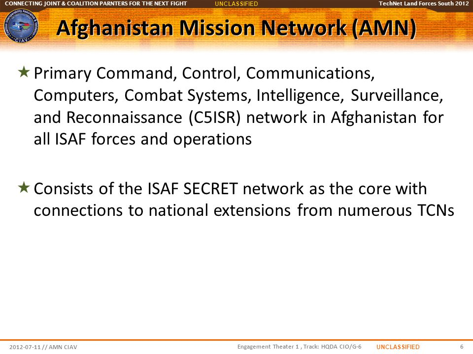 Afghanistan Mission Network (AMN)
