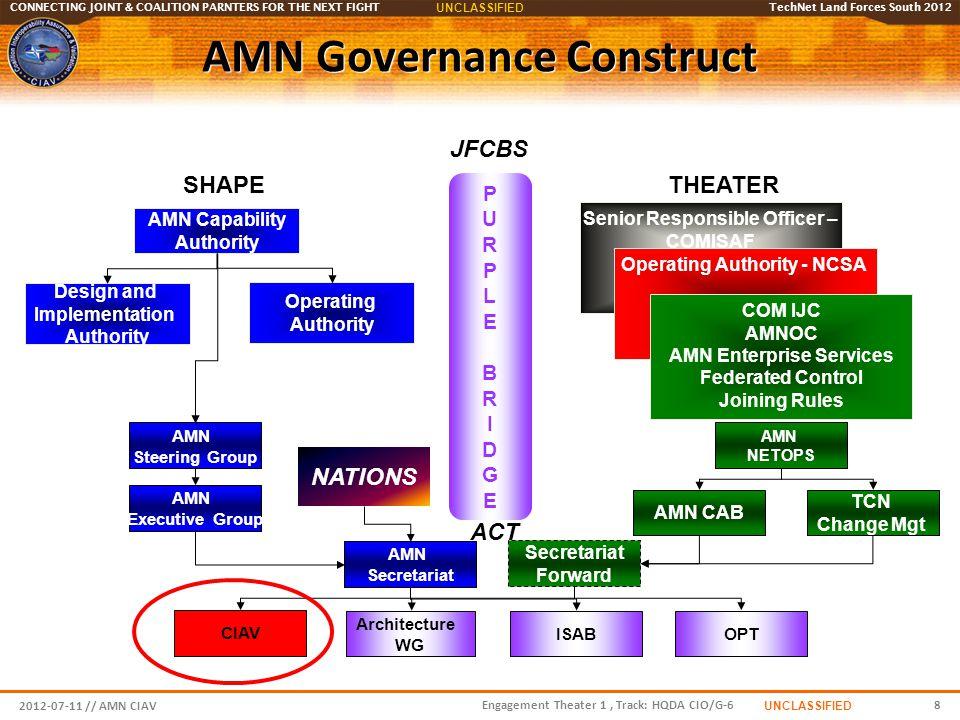 AMN Governance Construct