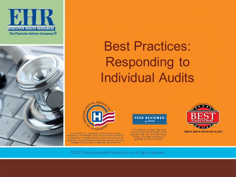 Best Practices: Responding to Individual Audits