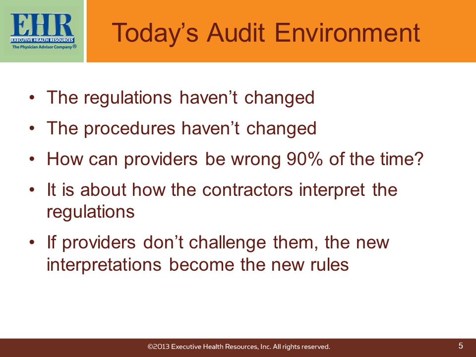 Today's Audit Environment