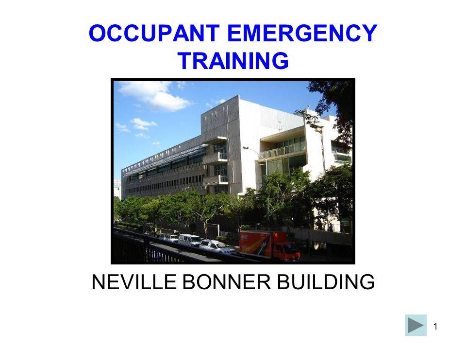 OCCUPANT EMERGENCY TRAINING