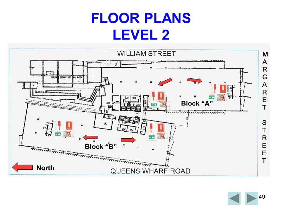 FLOOR PLANS LEVEL 2 WILLIAM STREET QUEENS WHARF ROAD