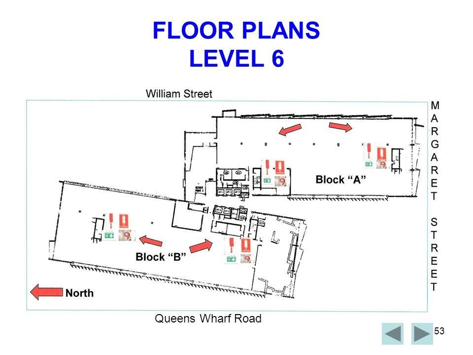 FLOOR PLANS LEVEL 6 Queens Wharf Road