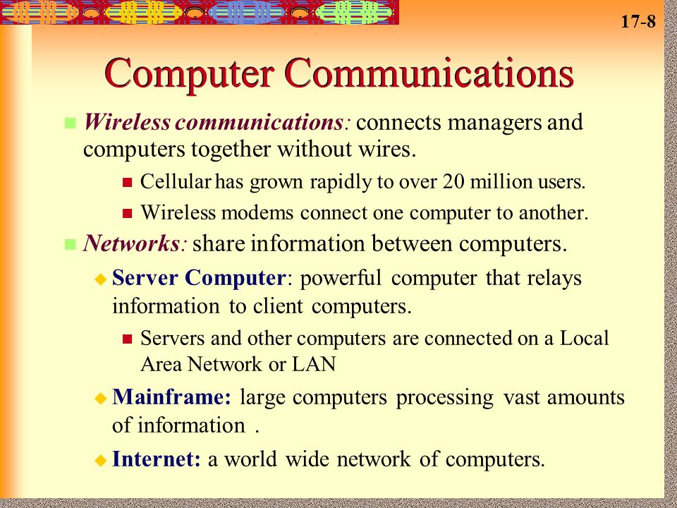 Computer Communications