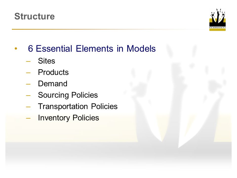 6 Essential Elements in Models