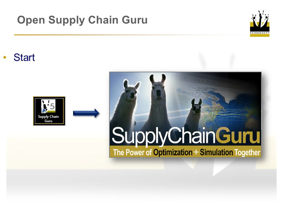 Open Supply Chain Guru Start