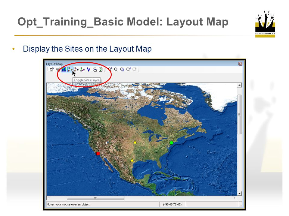 Opt_Training_Basic Model: Layout Map