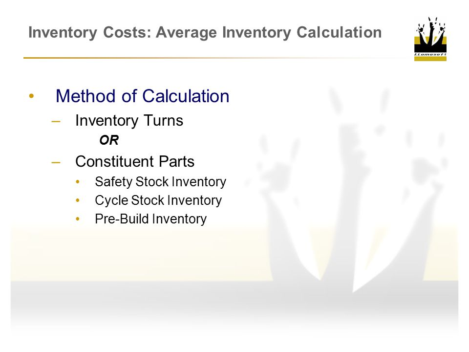 Inventory Costs: Average Inventory Calculation