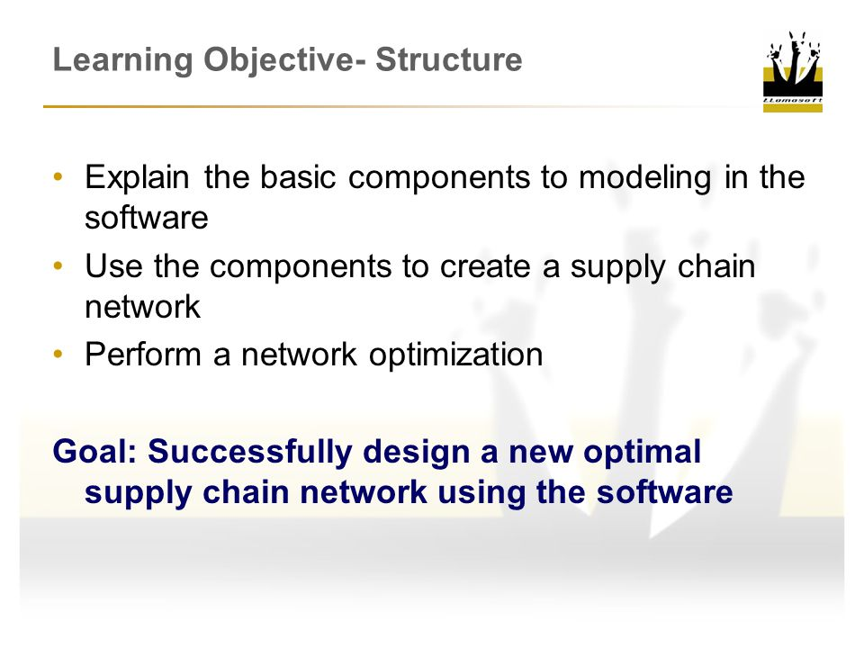 Learning Objective- Structure