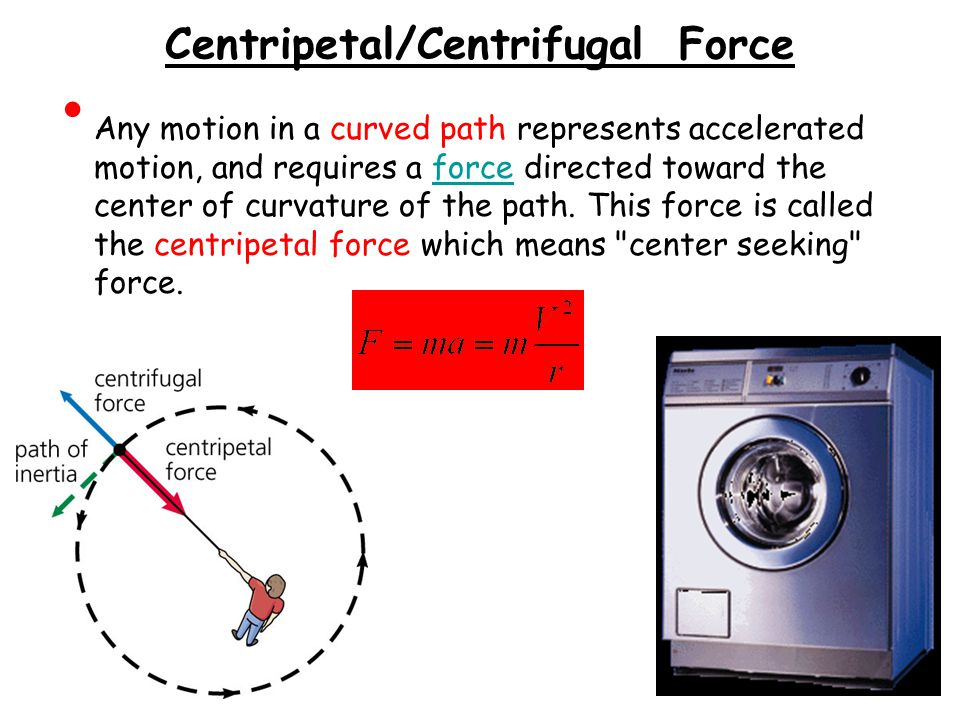 Centripetal/Centrifugal Force