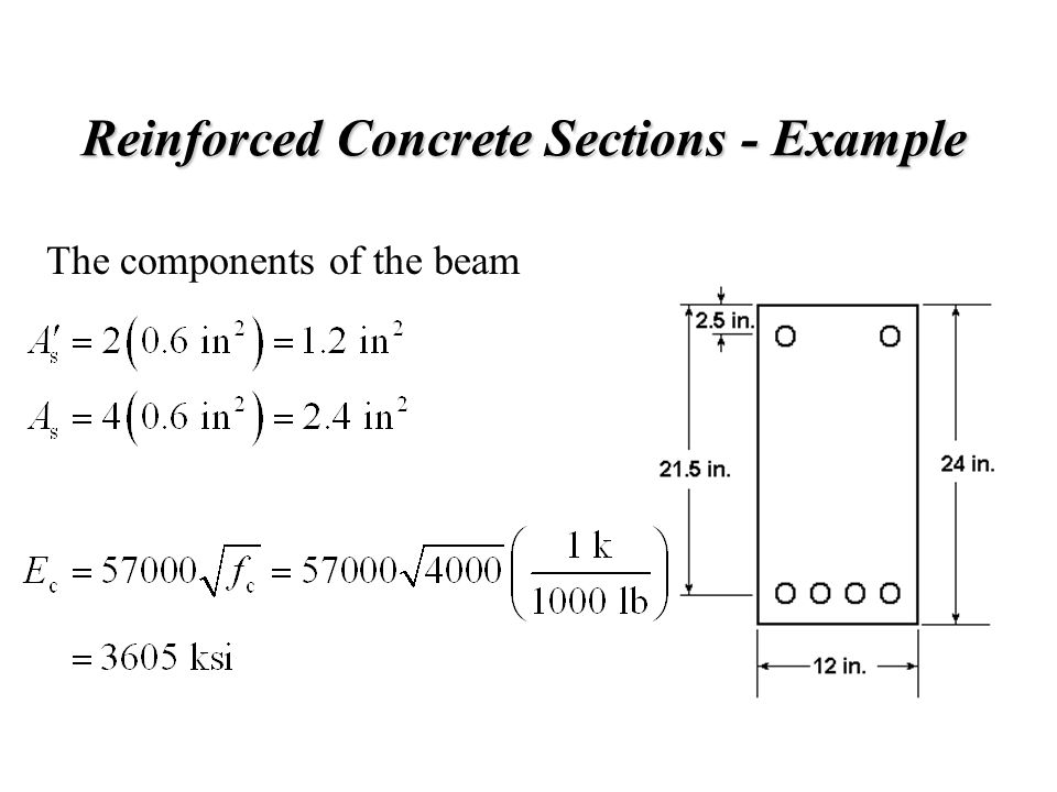 Reinforced Concrete Sections - Example