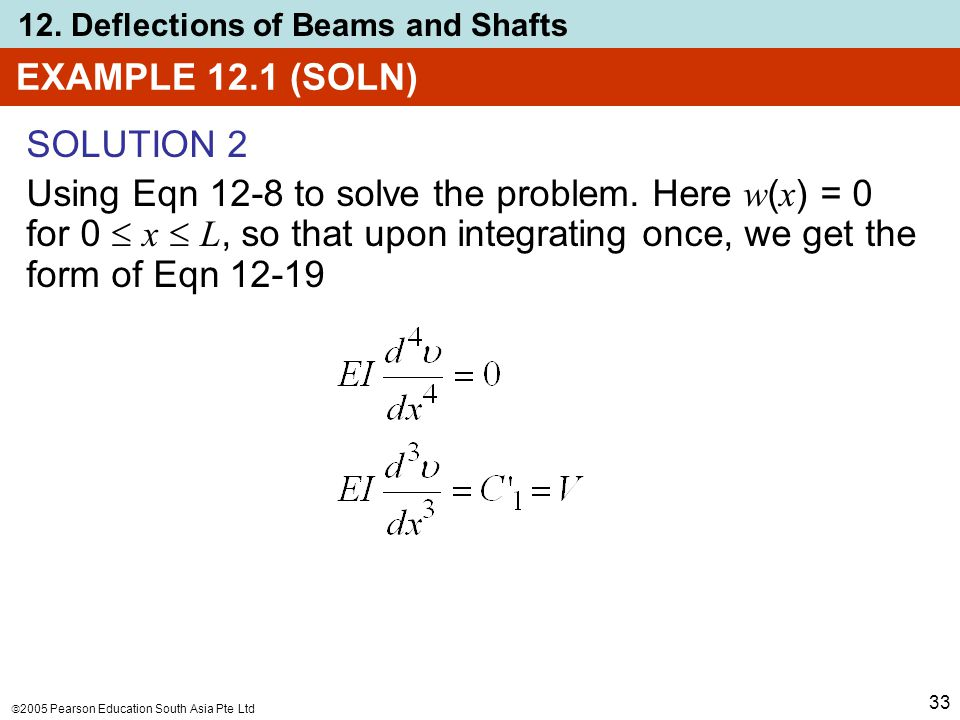 EXAMPLE 12.1 (SOLN) SOLUTION 2.