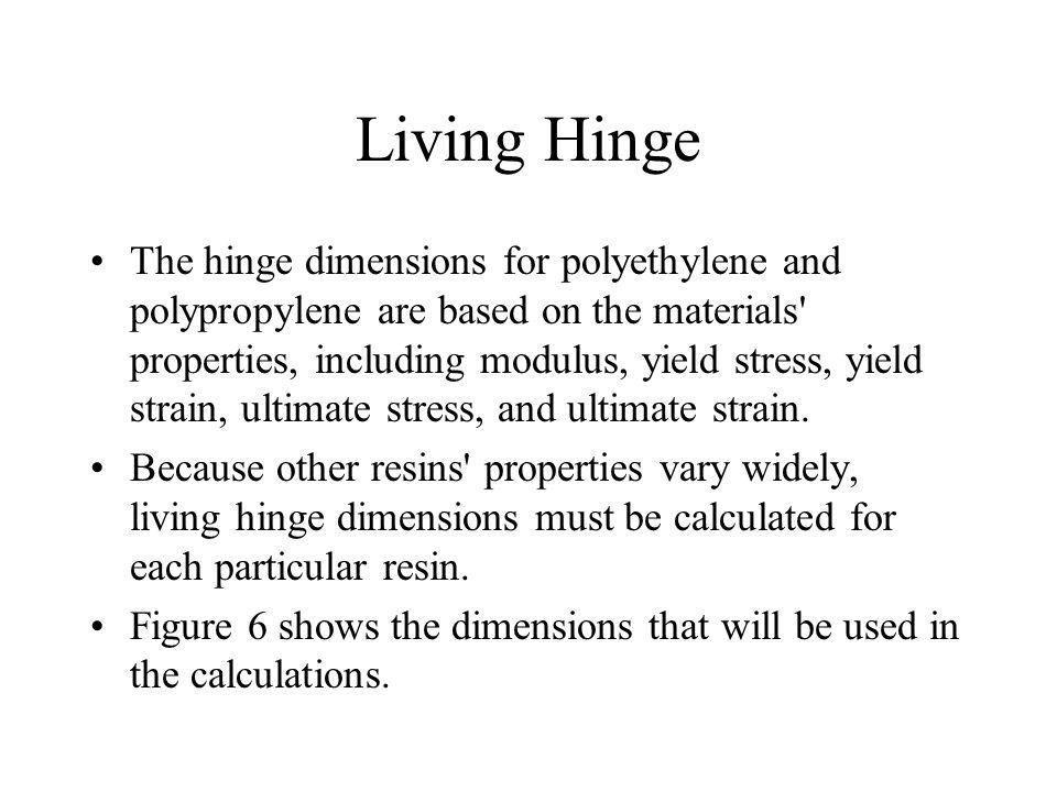 Living Hinge