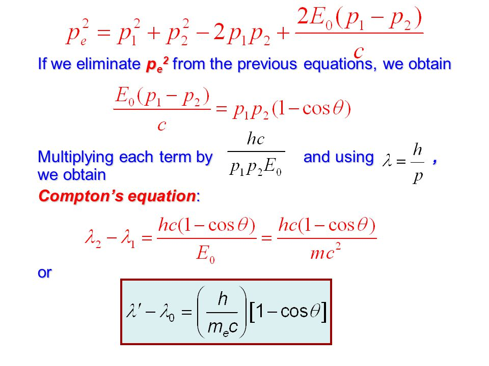 If we eliminate pe2 from the previous equations, we obtain