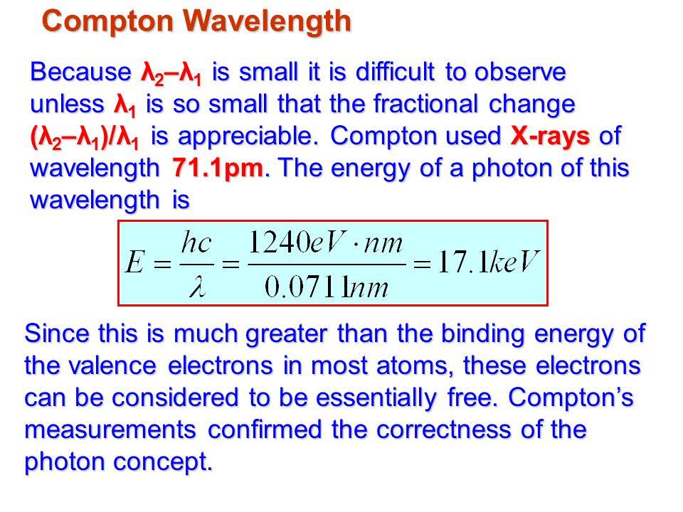 Compton Wavelength