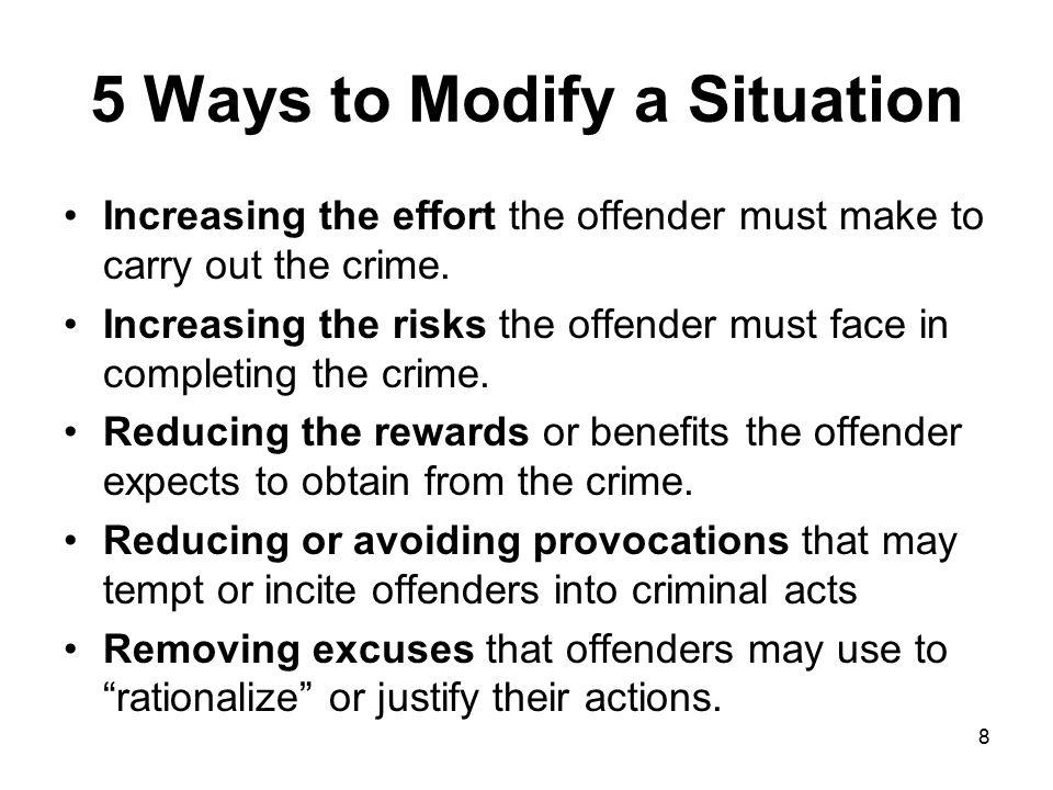 5 Ways to Modify a Situation