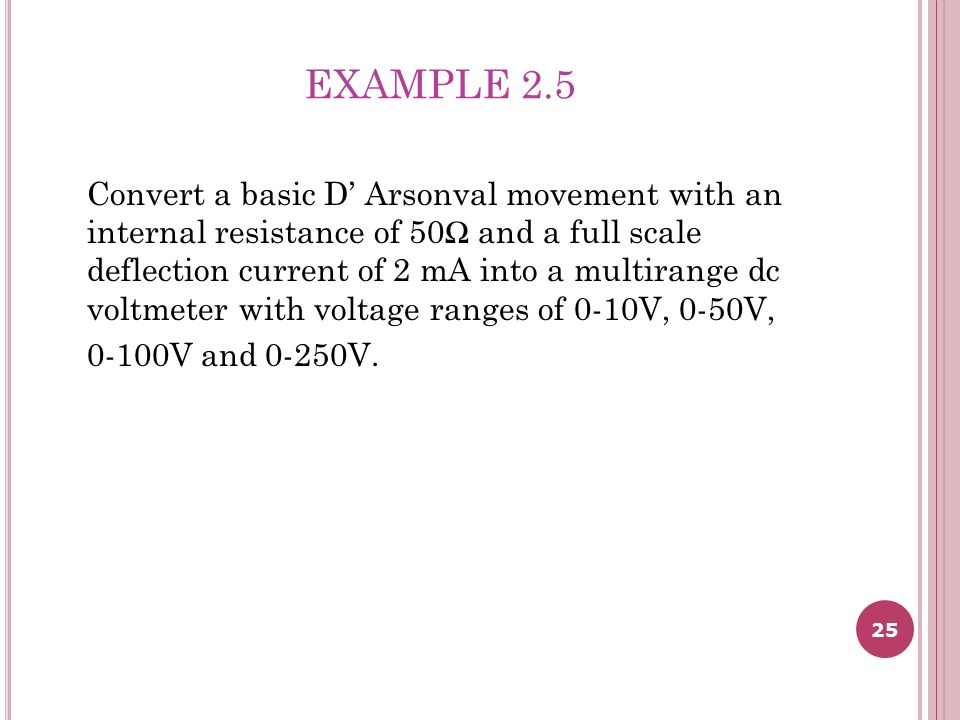 EXAMPLE 2.5