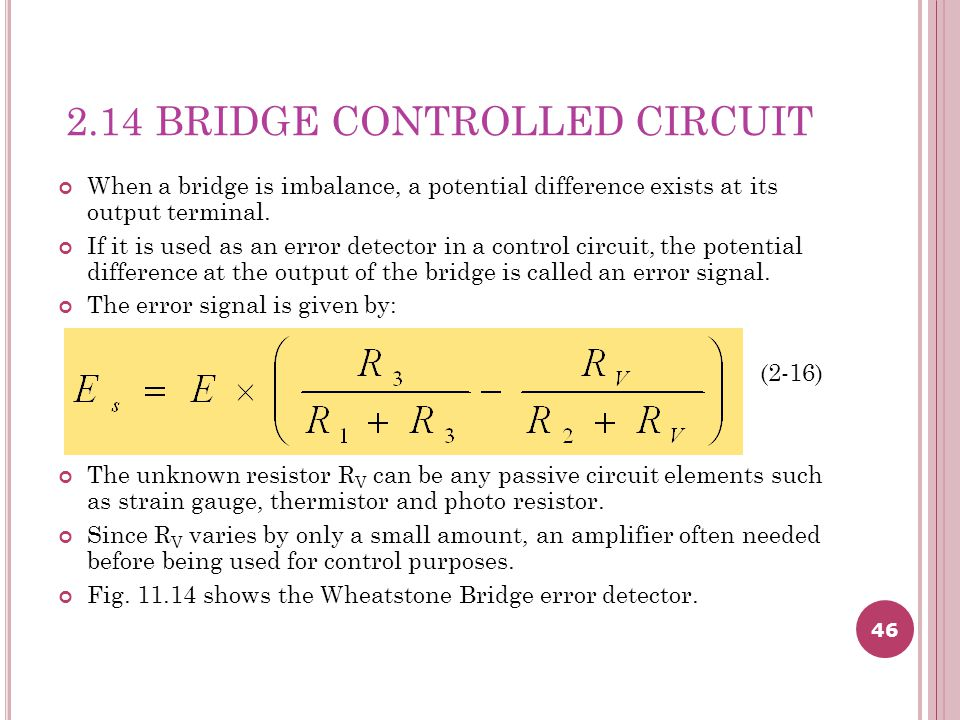 2.14 BRIDGE CONTROLLED CIRCUIT