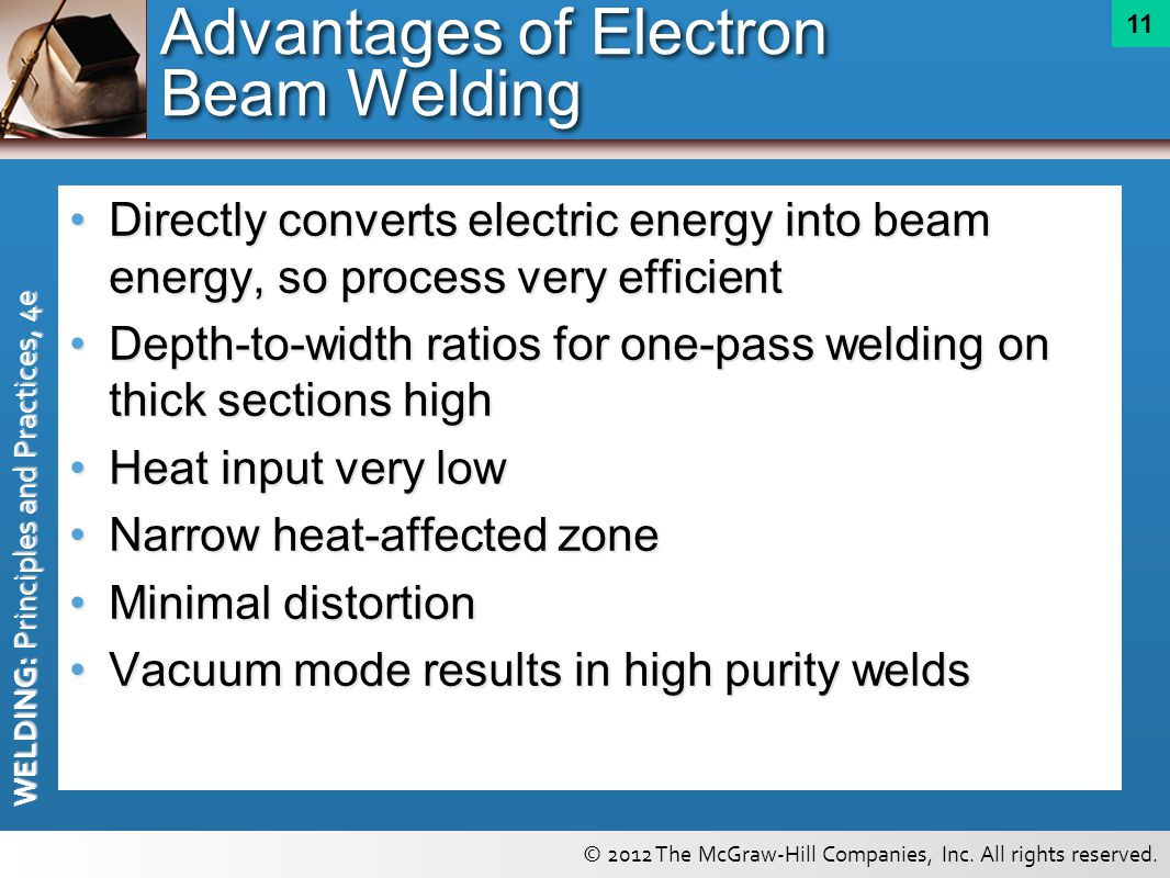 Advantages of Electron Beam Welding