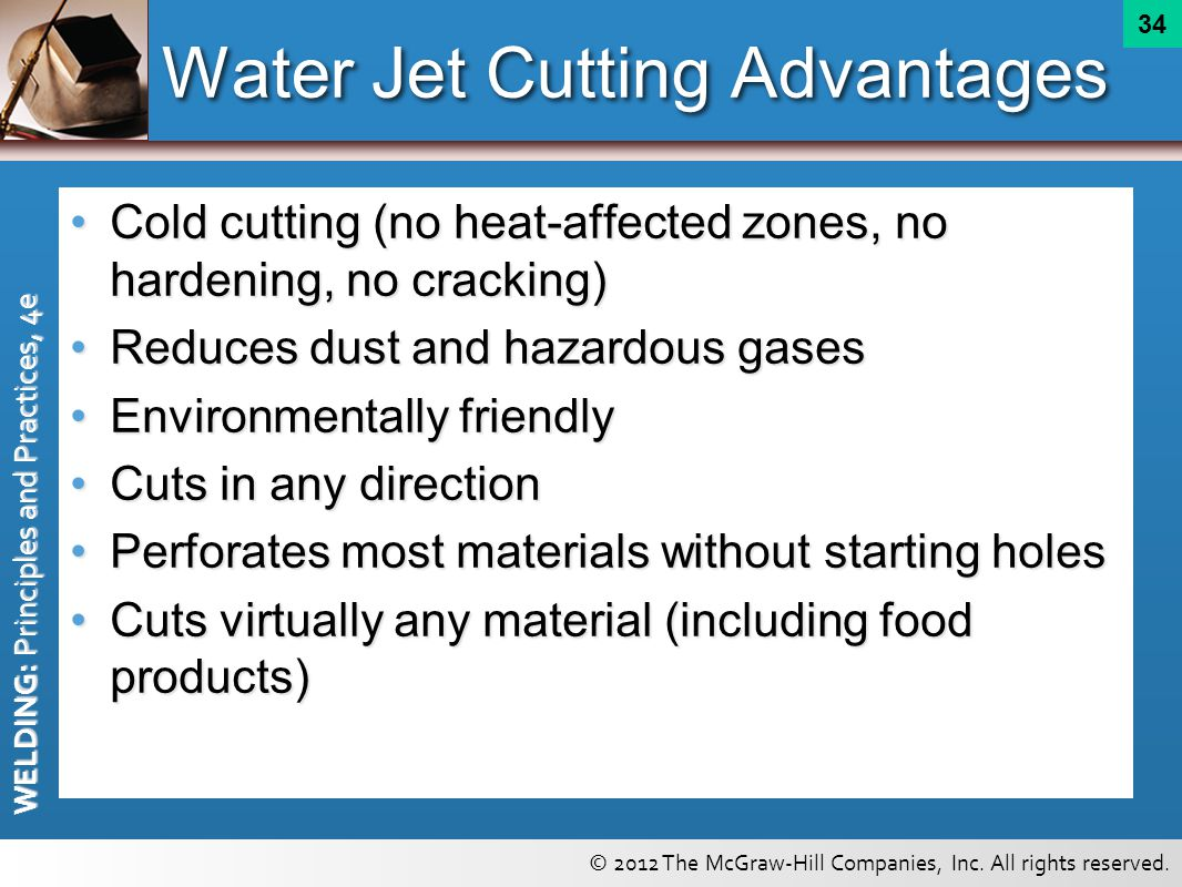 Water Jet Cutting Advantages