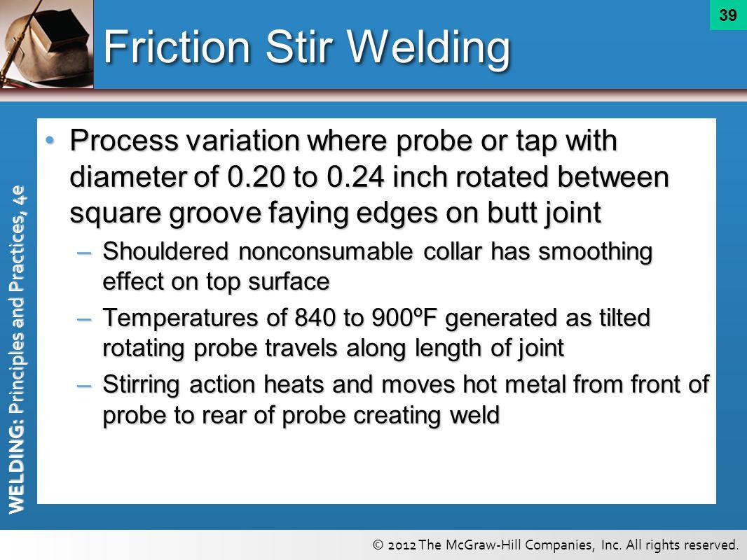 Friction Stir Welding