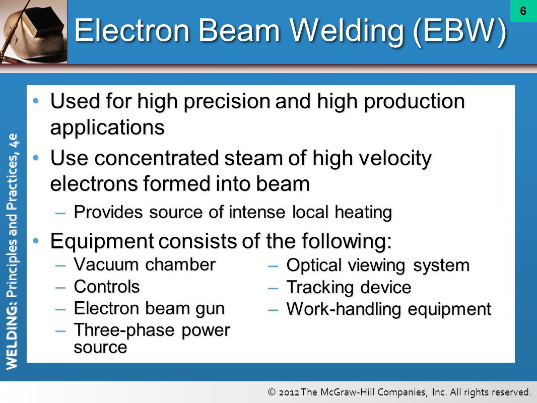 Electron Beam Welding (EBW)