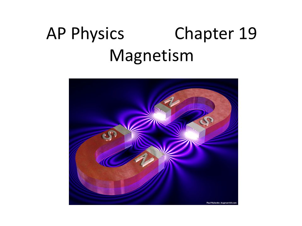 AP Physics Chapter 19 Magnetism