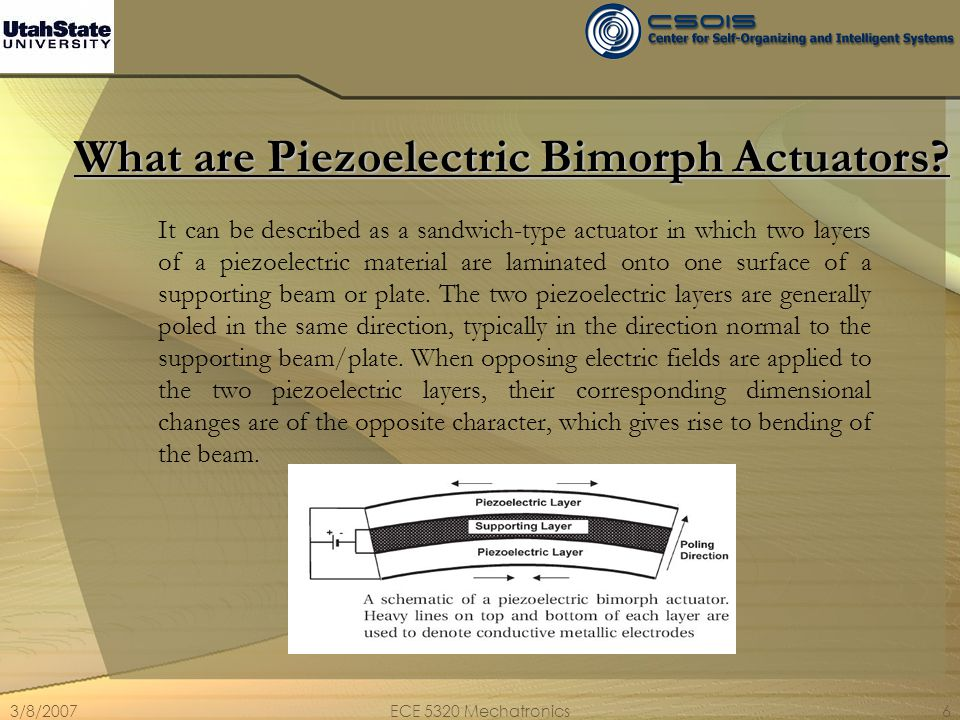 What are Piezoelectric Bimorph Actuators