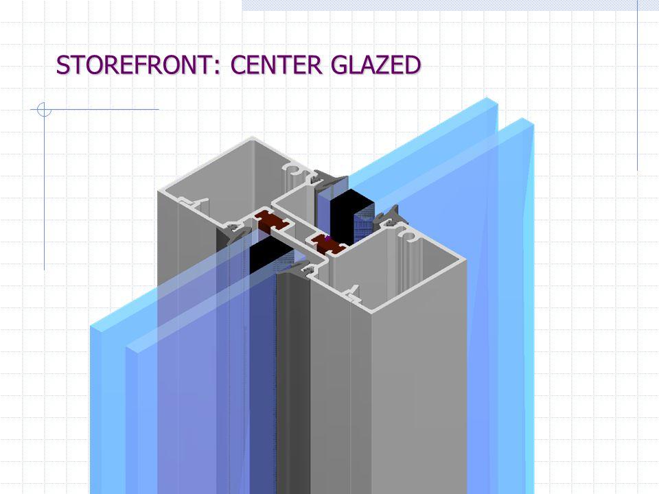 STOREFRONT: CENTER GLAZED