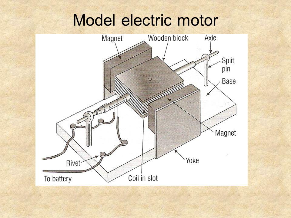 Model electric motor