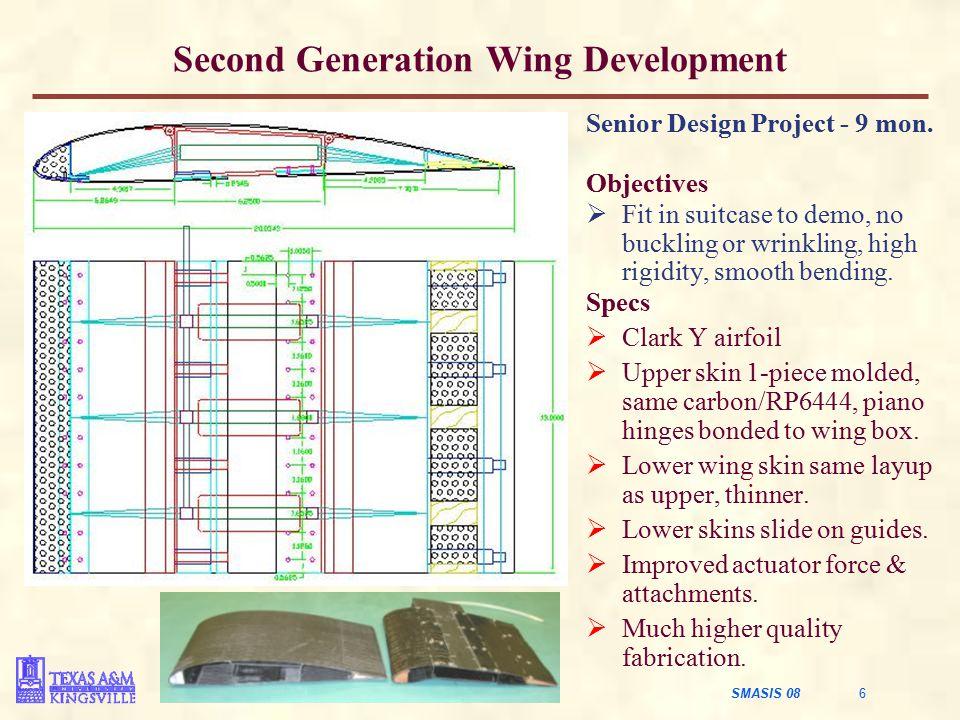 Second Generation Wing Development