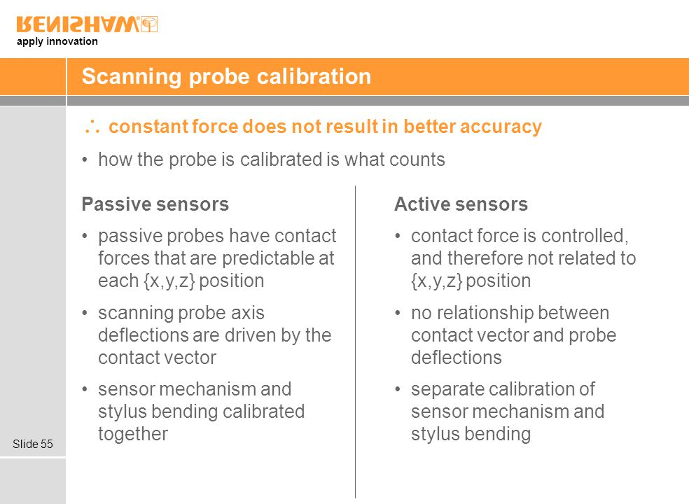 Scanning probe calibration